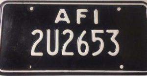 Aviano Plates 1997