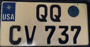 U.S. Forces in Germany Plates - 2014