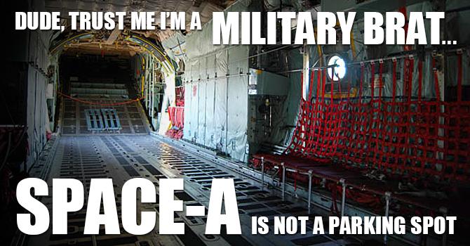 Military Brat Space-A Meme