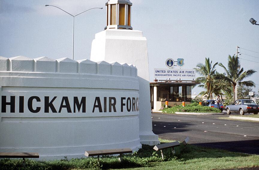 HICKAM AIR FORCE BASE, HAWAII – Wandering I
